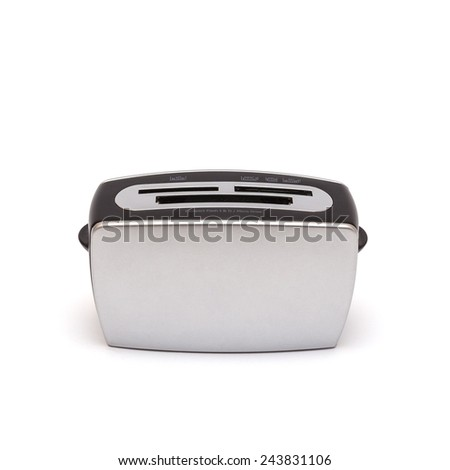 Flash reader in the form of a toaster, isolated with shadow