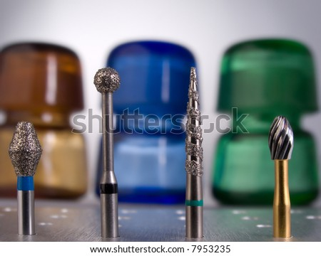 Flasks - stock photo