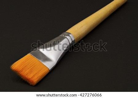 flat brush for painting and varnishing