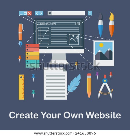 Market research conceptual design stock vector 604304603 Start my own website
