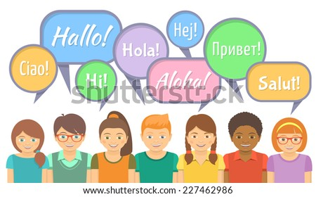 how to say hi in different languages list