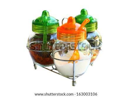Flavoring box - stock photo