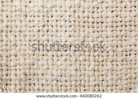 Flax natural white linen  background - stock photo