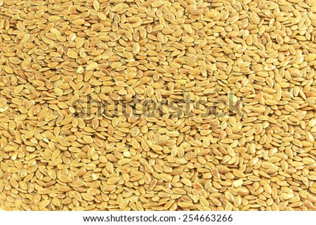 flax seed closeup as background - stock photo