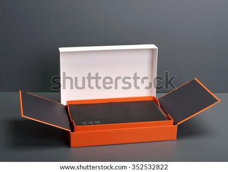 Floating Box - stock photo