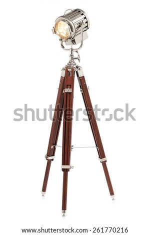 Flood Lamp - stock photo