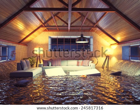 Flooded House Stock Images, Royalty-Free Images & Vectors ...