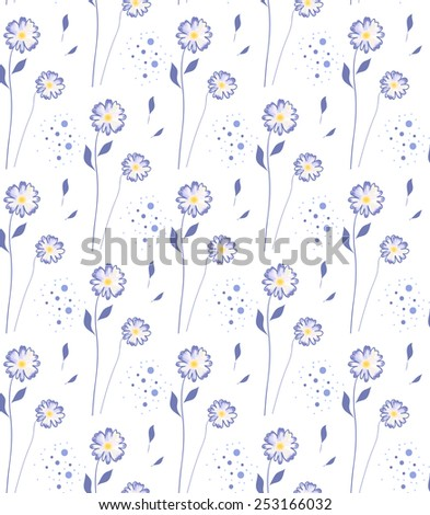 floral pattern - stock photo