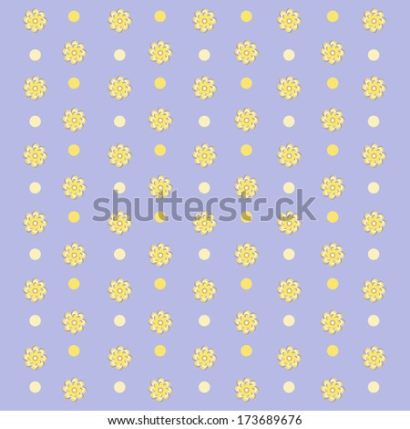 floral pattern background. - stock photo