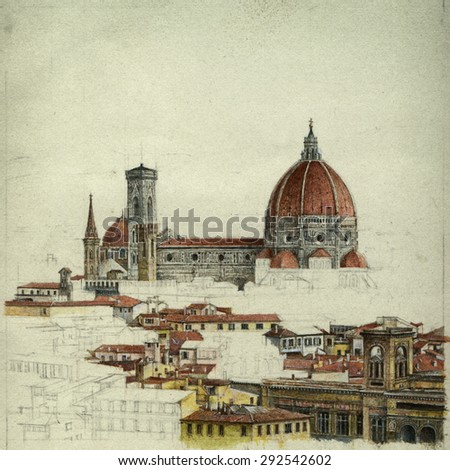 Florence - stock photo