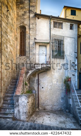 Florence Apartment - stock photo
