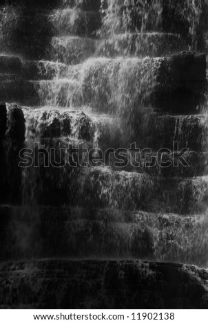 Florence falls in Glacier - stock photo