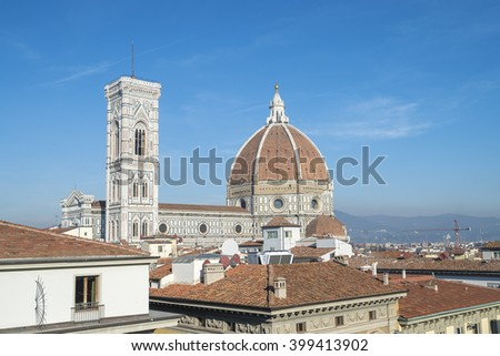 Florence italy - stock photo