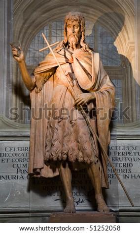 Florence - Saint Joho the Baptist - stock photo