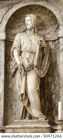 Florence - statue of St James 1511-18,Marble cathedral