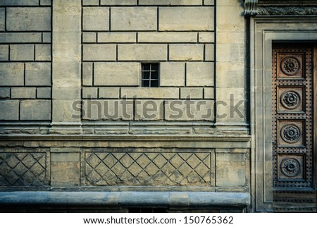 Florentine Architecture - stock photo