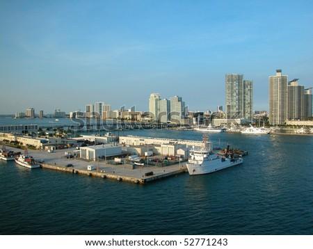 Florida Coastline - stock photo