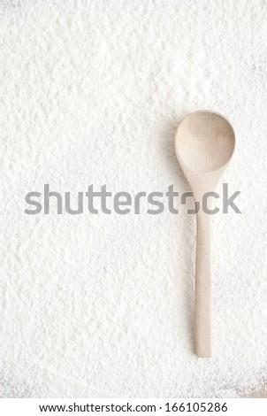Flour Background - stock photo