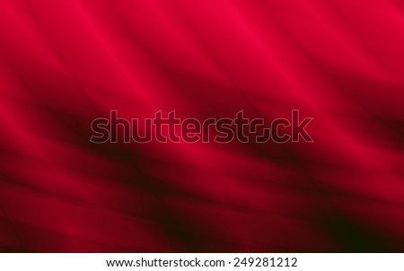 Flow energy modern abstract red background - stock photo