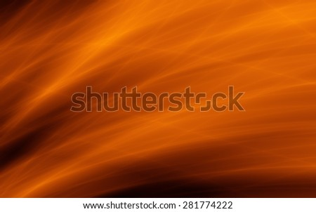 Flow wallpaper abstract golden orange summer backdrop - stock photo