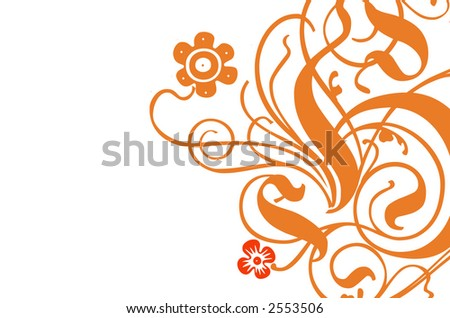 flower, art, decoration, illustration, background
