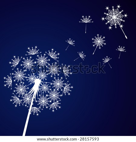 flower background for the new year.