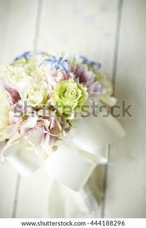 Flower bouquet - stock photo