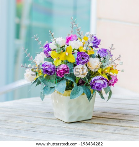 Flower bouquets - stock photo