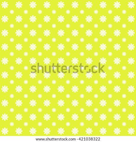 Flower pattern  - stock photo