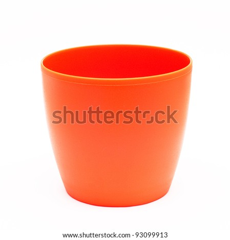 Flower Pot. Look through my portfolio to find more images of the same series - stock photo