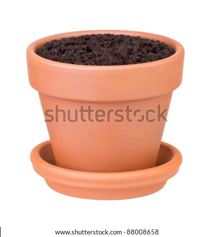 Potting soil stock images royalty free images vectors for Clay potting soil