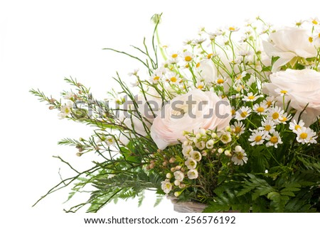 flowers Bride - stock photo