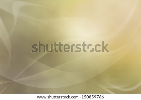 Flowing lines on abstract brown tone background - stock photo