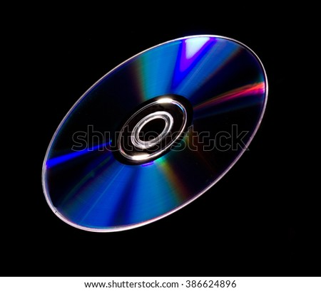 Flying compact disk