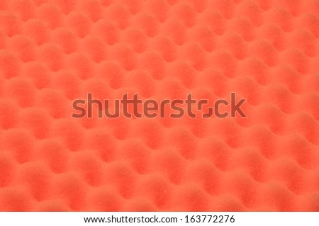 Foam acoustic, safe packaging material  - stock photo