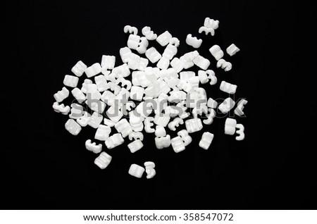 Foam Division - stock photo