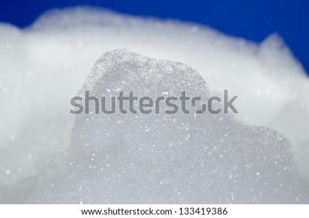 foam mountain - stock photo