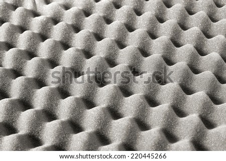 Foam packaging close up - stock photo
