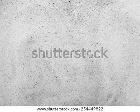 Foam white texture background - stock photo