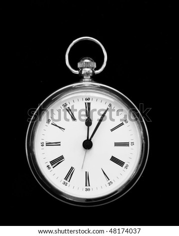 fob style clock - stock photo