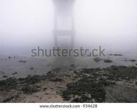 Foggy Day - stock photo