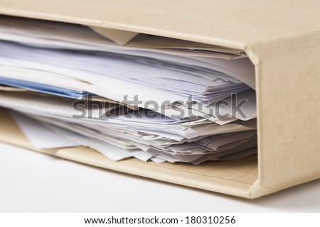 Folders and files