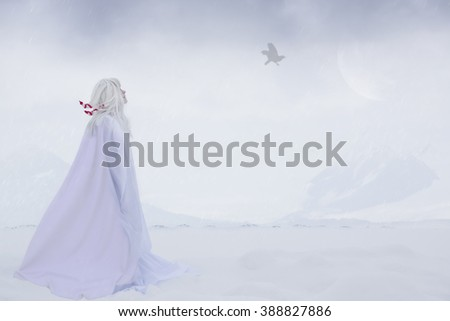 Fomorians. Mythological creature of Celtic folklore, immortal inhabitant of the north.