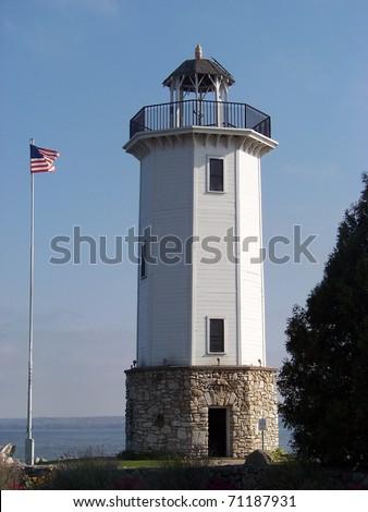 Fond Du Lac Lighthouse - stock photo