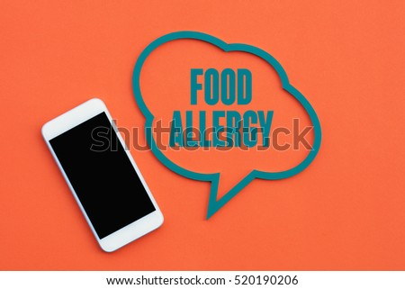 Food Allergy, Health Concept