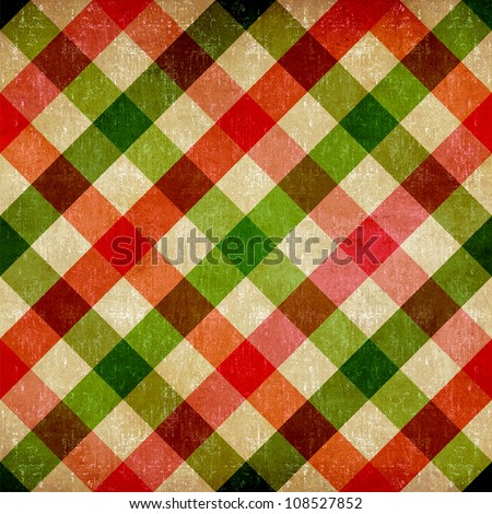 Food and restaurant industry vintage tablecloth seamless pattern background. - stock photo