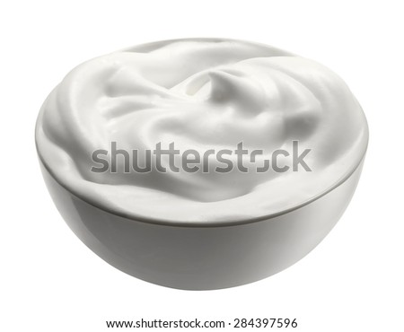 Food, cream - stock photo