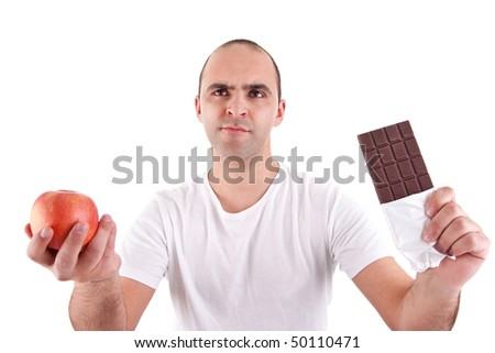 Food Decision - stock photo