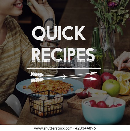Food Delicious Eat Well Restaurant Dinner Concept - stock photo