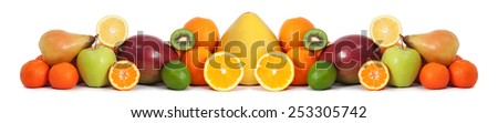 Food fruit banner - stock photo
